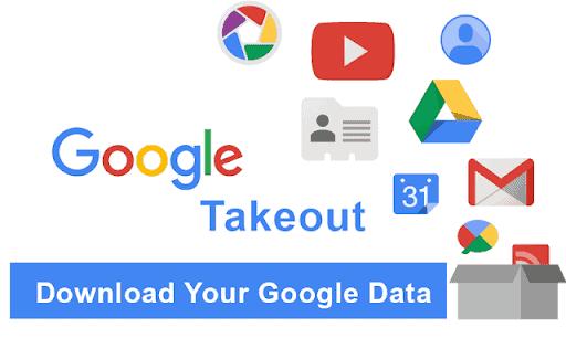 Google sikkerhetskopierer finnes ikke. Derfor bør du jevnlig sikkerhetskopiere og arkivere med Google Takeout.