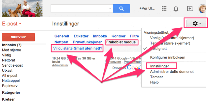 Google Suite med MAC