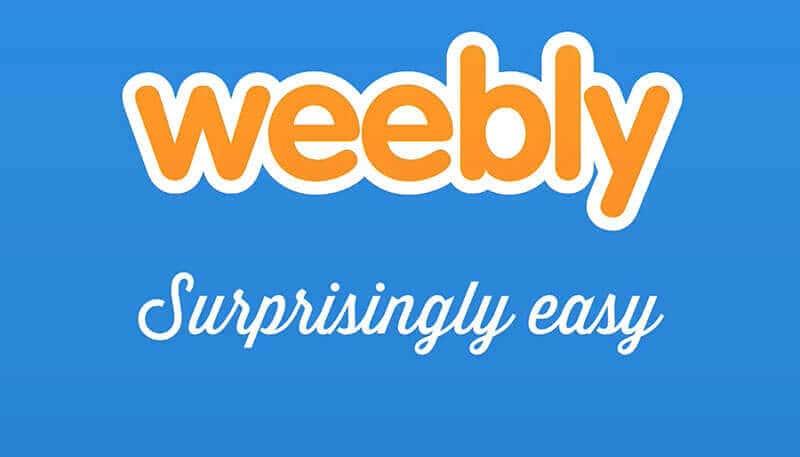 Weebly er overraskende enkelt å bruke til å lage nettsider.