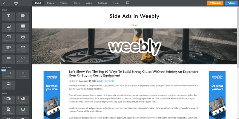 Weebly har alle appene du trenger for å få akkurat den funksjonaliteten du trenger.